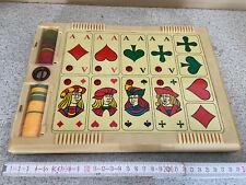 alter Karten Spielautomat, Spielzeug, Deko (G)15894