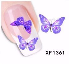 Matte Water Decal Plastic Nail Art Accessories