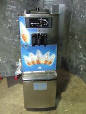 Ice Cream Machine Taylor C709 Single Phase Counter Top mounted on ss cart