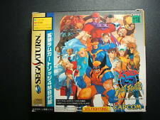 Sega Saturn X-Men vs Street fighter Japan SS