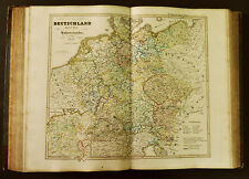 1854c,SPRUNER ATLAS:GERMANIA-DEUTSCHLAND.TAV IV.Under der HOHENSTAUFEN.1273.ETNA
