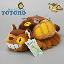 "12"" My Neighbor Totoro Cat Bus Plush Doll Catbus Toy Stuffed Pillow Xmas Gift"