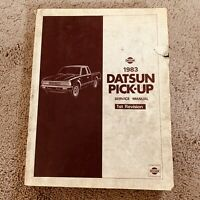 1983 Nissan Datsun Pick-up Service Repair Manual 1st Revision