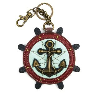 Chala Coin Purse/Key Fob, Anchor (806AC0)
