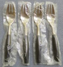Set of FOUR Dansk Kongo Salad Forks NEW NEVER USED Germany by Jen Quistgaard