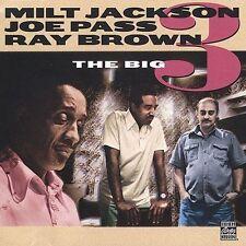 JOE PASS MILT JACKSON RAY BROWN - Big 3 - CD - Excellent Condition  OJCD 805-2
