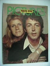 ROLLING STONE PICTURES 1974 - U.S.A. MAGAZINE - RARE - PAUL MCCARTNEY