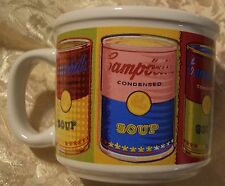 Campbell s Soup Andy Warhol Psychedelic Soup Mug!  Cool!   Houston Harvest Gift