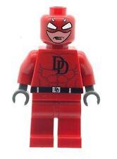 Custom Designed Minifigure - Daredevil Superhero Printed On LEGO Parts