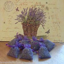 7 Lavender Bags Aromatic, Sleep Aid, Drawer & Car Freshener, Moth Repel, Natural