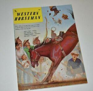 WESTERN HORSEMAN 1962 JULY, TRIPLE CROWN/CHAMPION COWBOYS/STAGECOACH/ALBERTA...