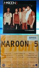 Maroon 5 - 1.22.03.Acoustic (CD, 2004, Octone Records (BMG), USA)