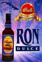 RUM CUBANO ELIXIR DE RON ARECHA RON DULCE RUM DOLCE CUBA BOTTIGLIA VETRO 700 ML