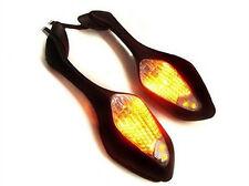 LED Turn Signal Side Rearview Mirrors for 2008-2011 Honda CBR1000RR CBR 1000 RR