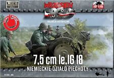 First to Fight 046 German infantry gun 7.5 cm le.IG 18 1/72