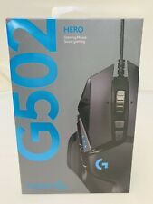 Logitech G502 Hero 16000 DPI Optical Gaming Mouse-Black Model:910-005469