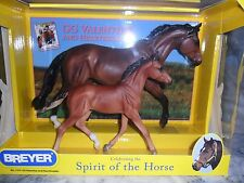 Breyer NIB * Valentine & Heartbreaker * 1474 Mare Foal Traditional Model Horse