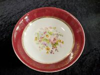 "Aristocrat By Salem China Co. 23K Gold Serving Bowl Dish 8 3/4"" Diameter 2 1/8"""