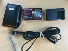 Nikon COOLPIX S220 10.0MP Digital Camera - Plum