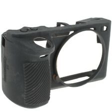 easyCover Silikon-Schutzhülle für Sony Alpha A6500 - Schwarz Case Black