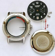 CASE DIAL and hands FOR THE WATCH Chronograph 3133  POLJOT