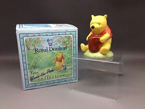 Royal doulton boxed WINNIE THE POOH collection WP1 - WINNIE AND HONEYPOT