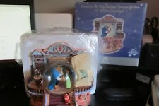 NEW OLD STOCK Disney Beauty & The Beast Library Musical Snowglobe Globe Blower