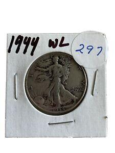 1944 W Walking Liberty Half Dollar Coin