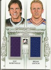 Luc Robitaille & Brian Leetch 2013-14 ITG  Classmates  Silver Version  /50