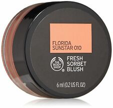 The Body Shop Fresh Sorbet Blush in Florida Sunstar 010 6ml SEALED new