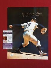 "Whitey Ford, ""Autographed"" (JSA) 11x14 Photo w/ Multiple Inscriptions"