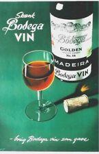 Original vintage poster MADEIRA BODEGA DESERT WINE c.1950