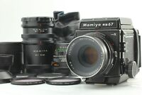 [N MINT] Mamiya RB67 Pro S + Sekor C 127mm F3.8 + Sekor C 65mm F4.5 Japan a353