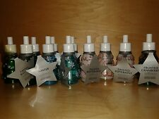 13x BATH & BODY WORKS WALLFLOWER CRANBERRY PEPPERMINT WINTER BALSAM RARE LOT x13