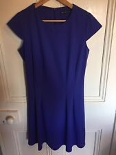 Very Blue Skater Dress Size 12 Worn Once