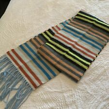 V.FRAAS GERMANY STRIPED MULTI-COLORED Scarf womens