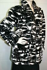 New listing Fabulous M Animal Racoon Dog Face Dona Lucci Vtg 80s Plush Faux Fur Coat Jacket