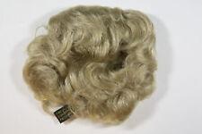 Champagne Blonde Blonde Medium Human Hair Curly Scrunchie Hair Pieces