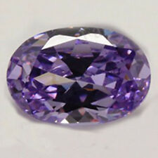 Unheated 23.58ct VVS Purple Sapphire 13X18mm Oval Cut AAAA+ Loose Gemstone