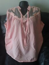 Unbranded Pink Blouse Size 4XL