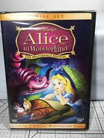 Alice in Wonderland (DVD, 2004, 2-Disc Set, The Masterpiece Edition) New Sealed
