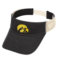 "Iowa Hawkeyes NCAA Top of the World ""Sandstone"" Mesh Back Visor"
