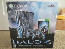 NEW Microsoft Xbox 360 S Halo 4 Limited Edition 320gb Blue Console Slim System