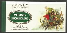 Jersey 1987 Viking Heritage prestige booklet-Attractive Topical (431a-36a) Mnh