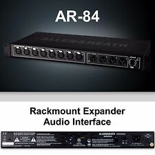 ALLEN & HEATH AR-84 Black 8 Channel Digital Rackmount Expansion Audio Interface