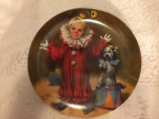 TOMMY THE CLOWN COLLECTOR PLATE EDWIN KNOWLES FINE CHINA ANTIQUE MCCLELLAND
