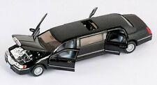 Lincoln Town Car Stretch Limousine 1999 Hochzeit schwarz Modell 1:38 KINSMART