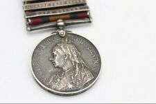 More details for queens south africa 5 bar medal 5959 pte harry thornton worcestershire regiment
