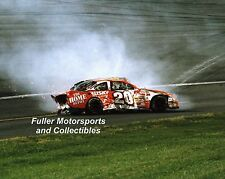TONY STEWART CRASH AT THE WINSTON 2000 #20 HOME DEPOT 8X10 PHOTO NASCAR CUP