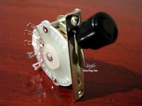 1 Modern Vintage Guitar Classic 4 Way Roller Spring Plate Lever Selector Switch